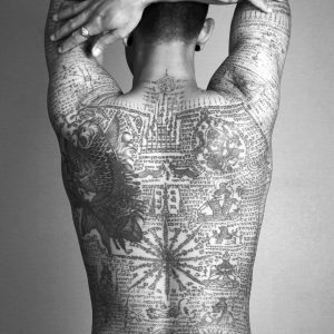 man, tattoo, thai
